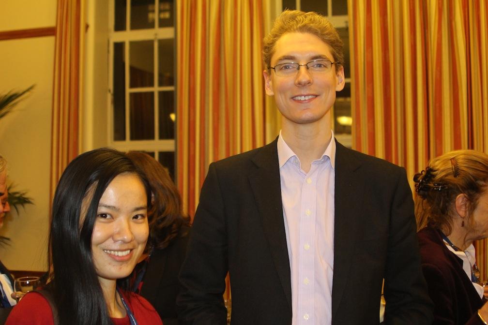 Christina with Google UK Director