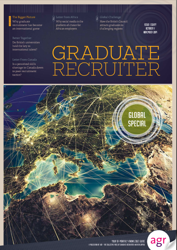 Graduate Recruiter October 2014 cover