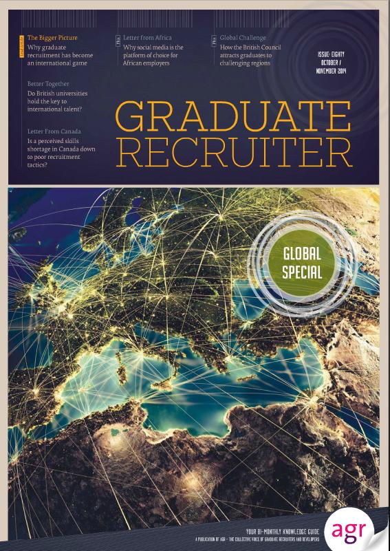 Graduate Recruiter October 2014 cover