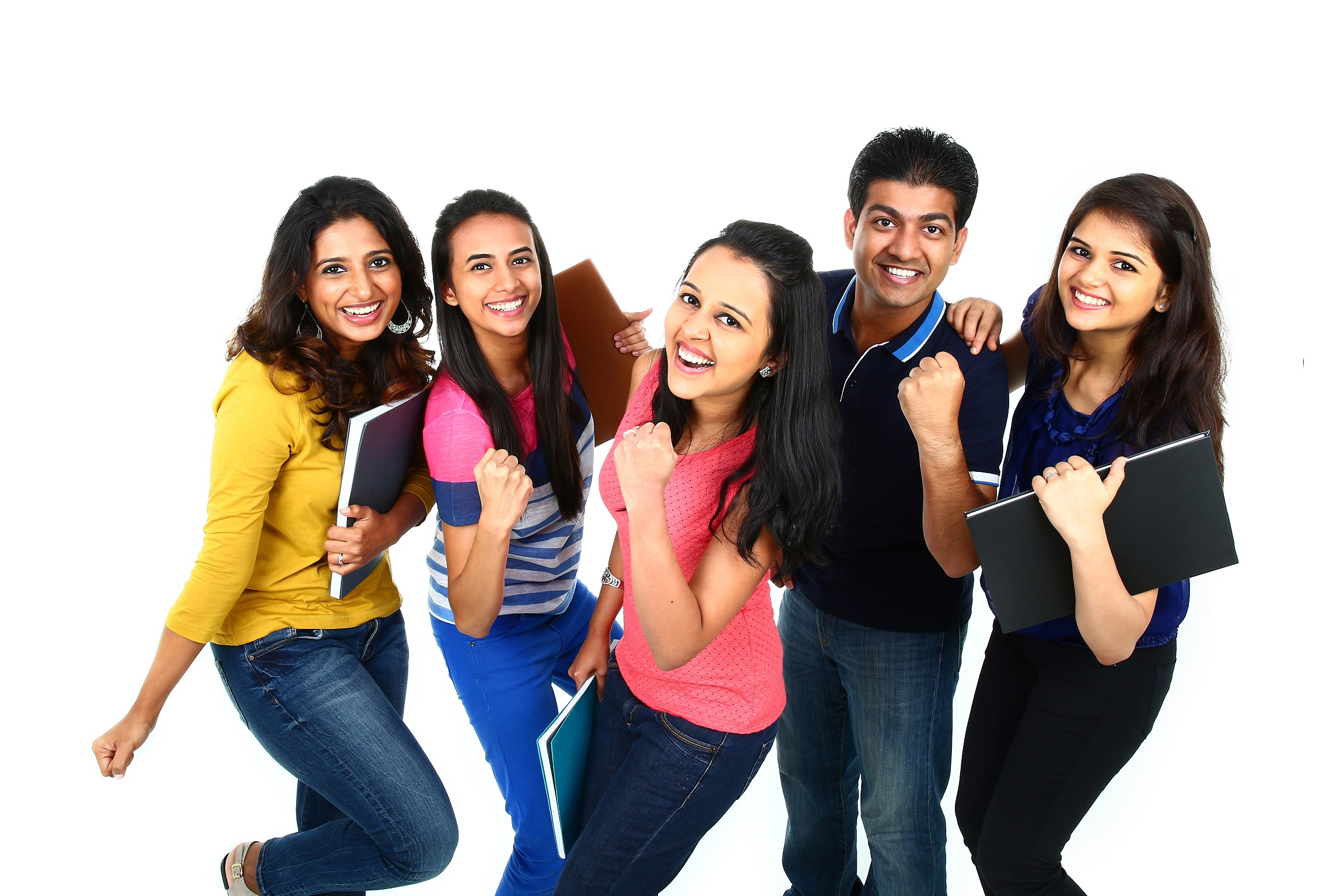 Group of Indian students