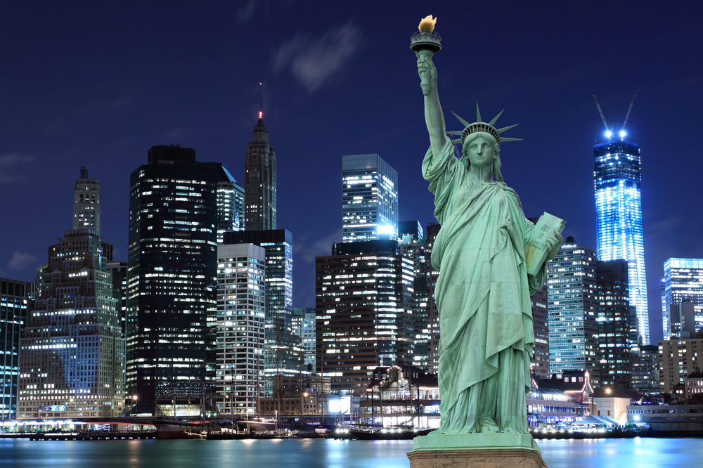 Popular student city: New York