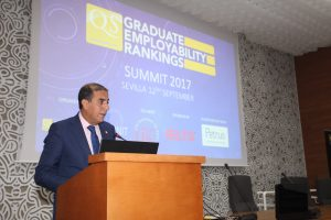 President of the University of Seville, Dr. Miguel Castro - GER Summit 2017