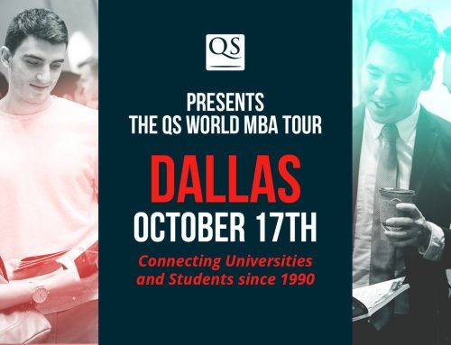 Visit the QS World MBA Tour Dallas, Bringing You 50+ Business Schools All Under One Roof.