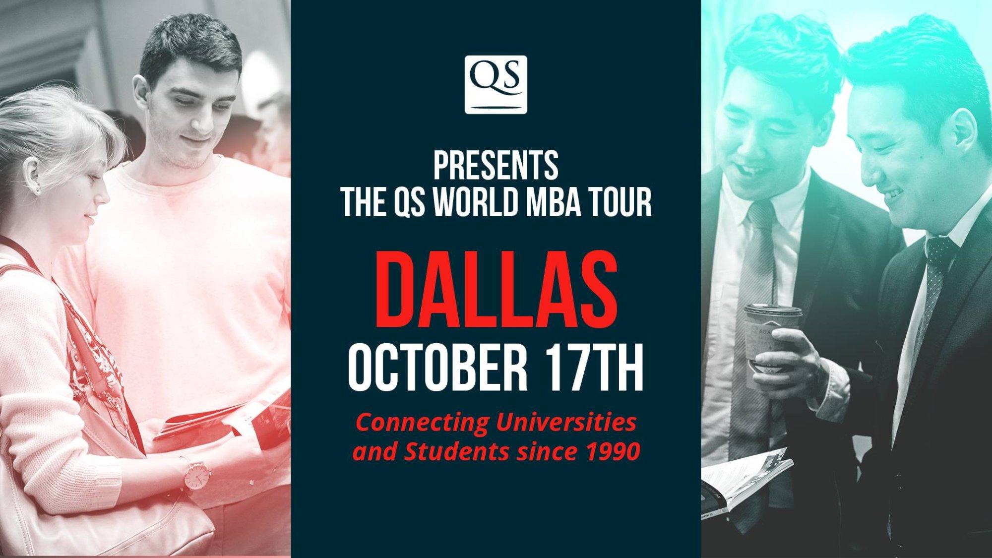 Visit The Qs World Mba Tour Dallas 50 Business Schools