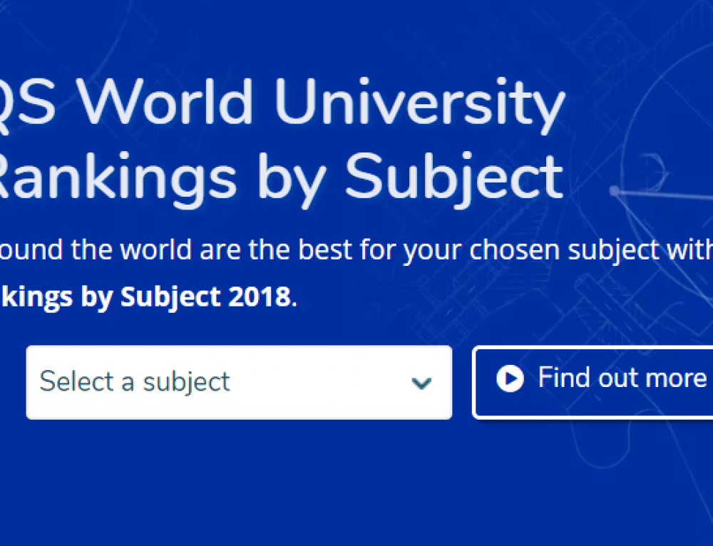 How Important are University Subject Rankings?