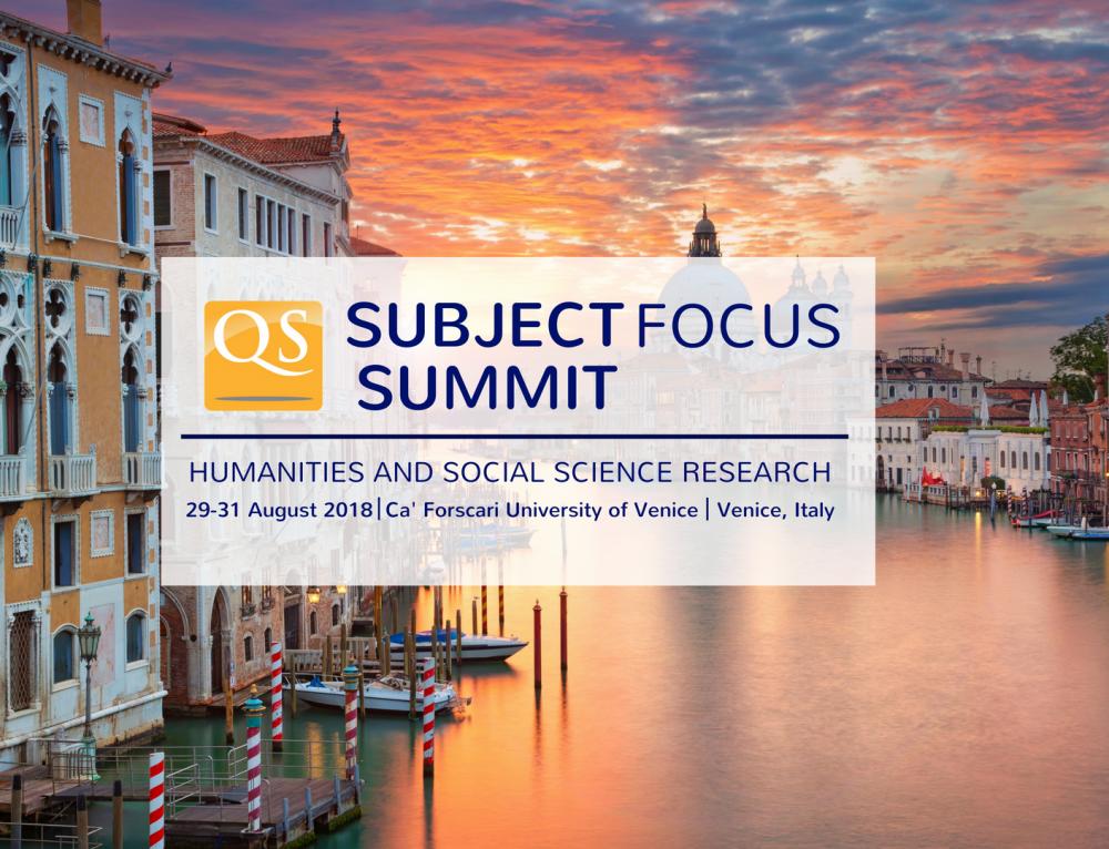 QS Subject Focus Summit 2018