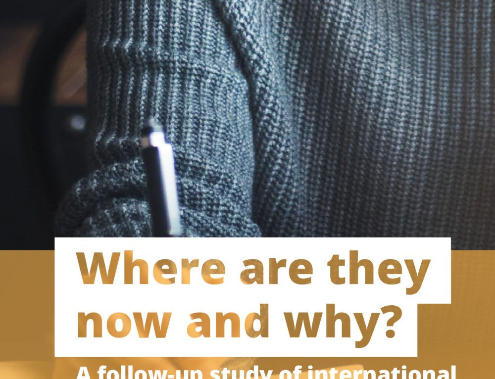 Where are they now and why? A follow-up study of international students interested in Australian universities