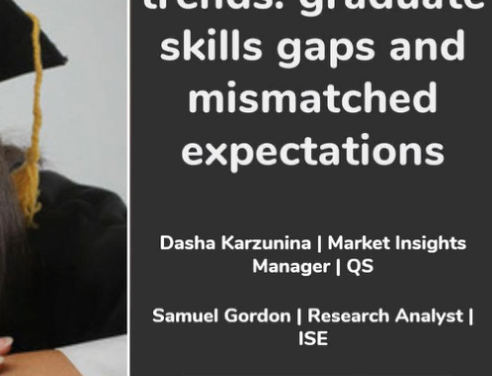 Webinar on Demand: Graduate Skills Gaps and Mismatched Expectations