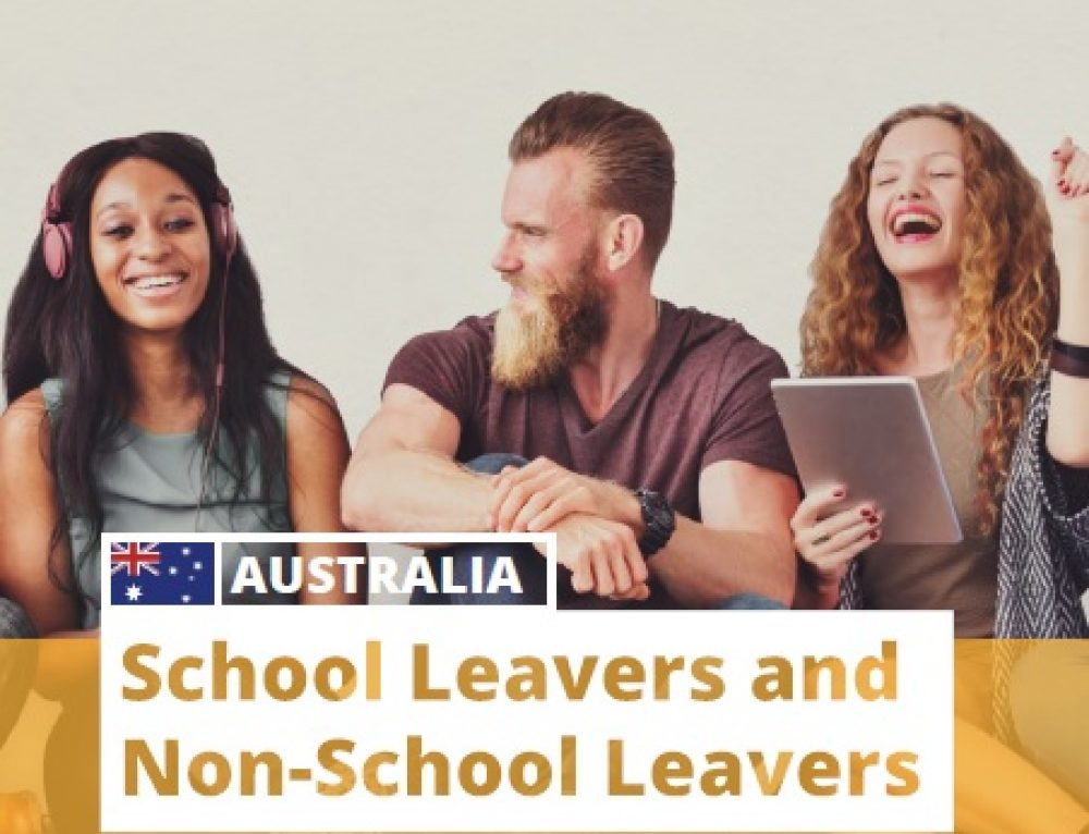 Australia: School Leavers and Non-School Leavers