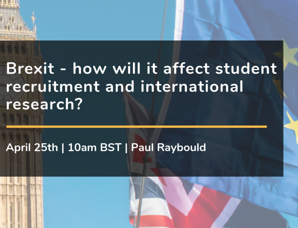 Brexit – how will it affect student recruitment and international research?