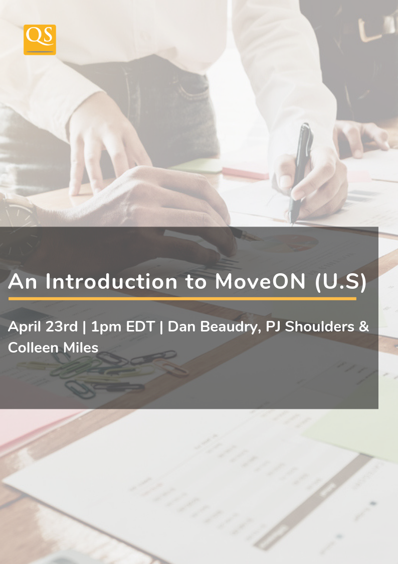 Image for webinar about An Introduction to MoveOn, an international relationship management tool (IRM).