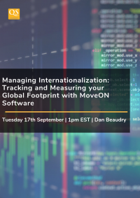 Webinar cover image for Managing Internationalization MoveOn Webinar