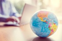 Image of globe for blog post Why You Need Regional Representation for International Student Recruitment