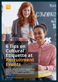 cover image for report '6 tips on cultural etiquette at recruitment events'