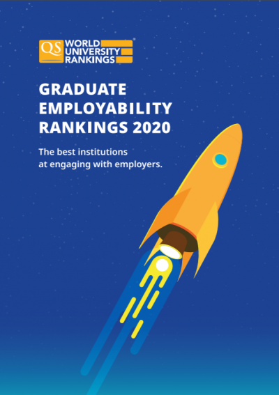 QS Graduate Employability Rankings report cover image