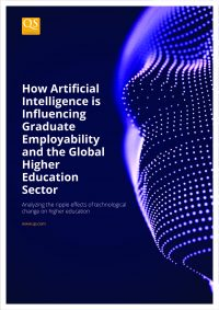 Image cover for report 'How Artificial Intelligence is Influencing Graduate Employability and the Global Higher Education Sector'