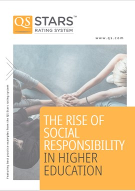 image cover for report 'The Rise of Social Responsibility in Higher Education'