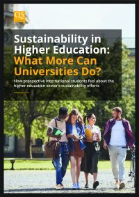 image cover for report 'Sustainability in Higher Education: What More Can Universities Do?'