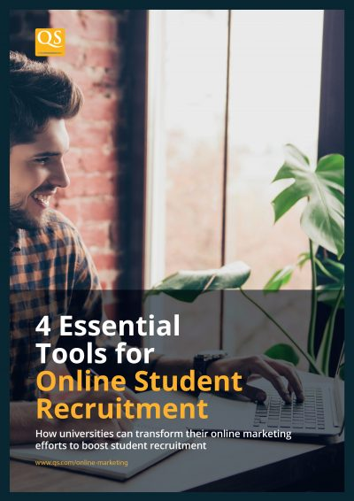 image cover for report '4 Essential Tools for Online Student Recruitment'