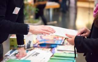 image cover for blog 'How to Make the Most of Your Next Student Recruitment Fair'