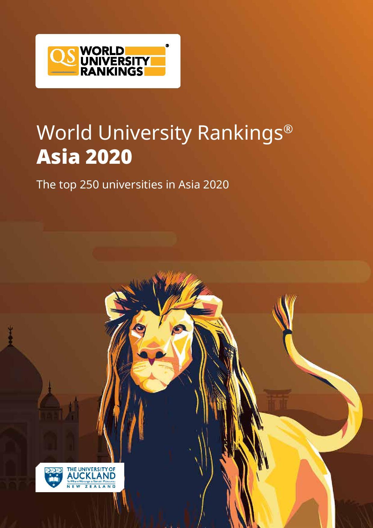 Qs Asia World University Rankings 2020