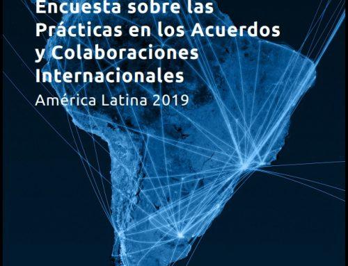 Ecuesta sobre las Prácticas en la Gestión de los Acuerdos y Colaboraciones Internacionales en América Latina