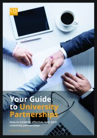 Guide to university partnerships white paper cover