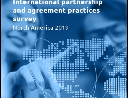 International Partnership and Agreement Practices Survey Report 2019 – North America