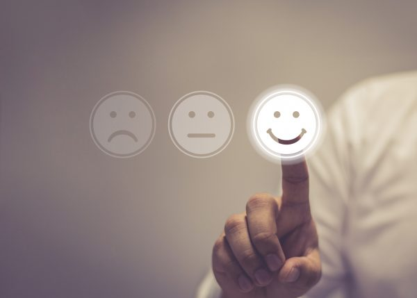 Smiley-faces-rating-system