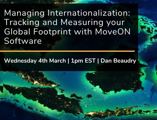 Managing Internationalization: Tracking and Measuring your Global Footprint with MoveON Software (U.S & Canada)