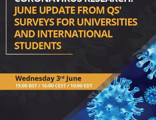 Coronavirus Research – June Update from QS' Surveys for Universities and International Students