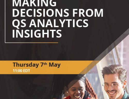 Making decisions from QS Analytics insights