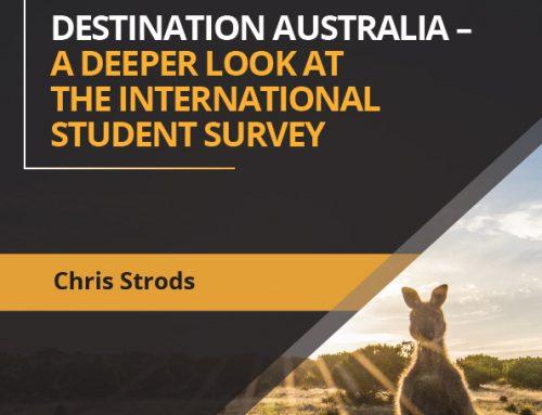 Destination Australia – A Deeper look at the International Student Survey