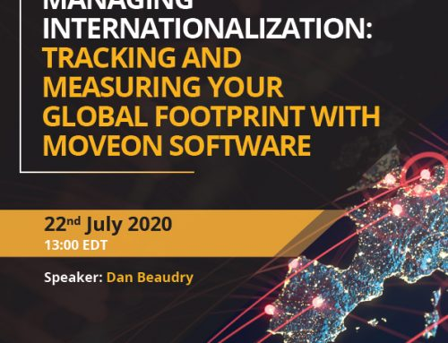 Managing Internationalization: Tracking and Measuring your Global Footprint with MoveON Software