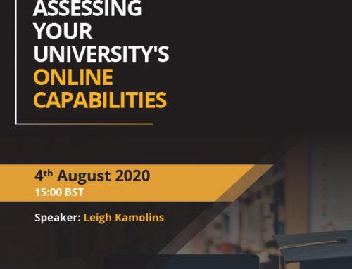 Assessing Your University's Online Capabilities
